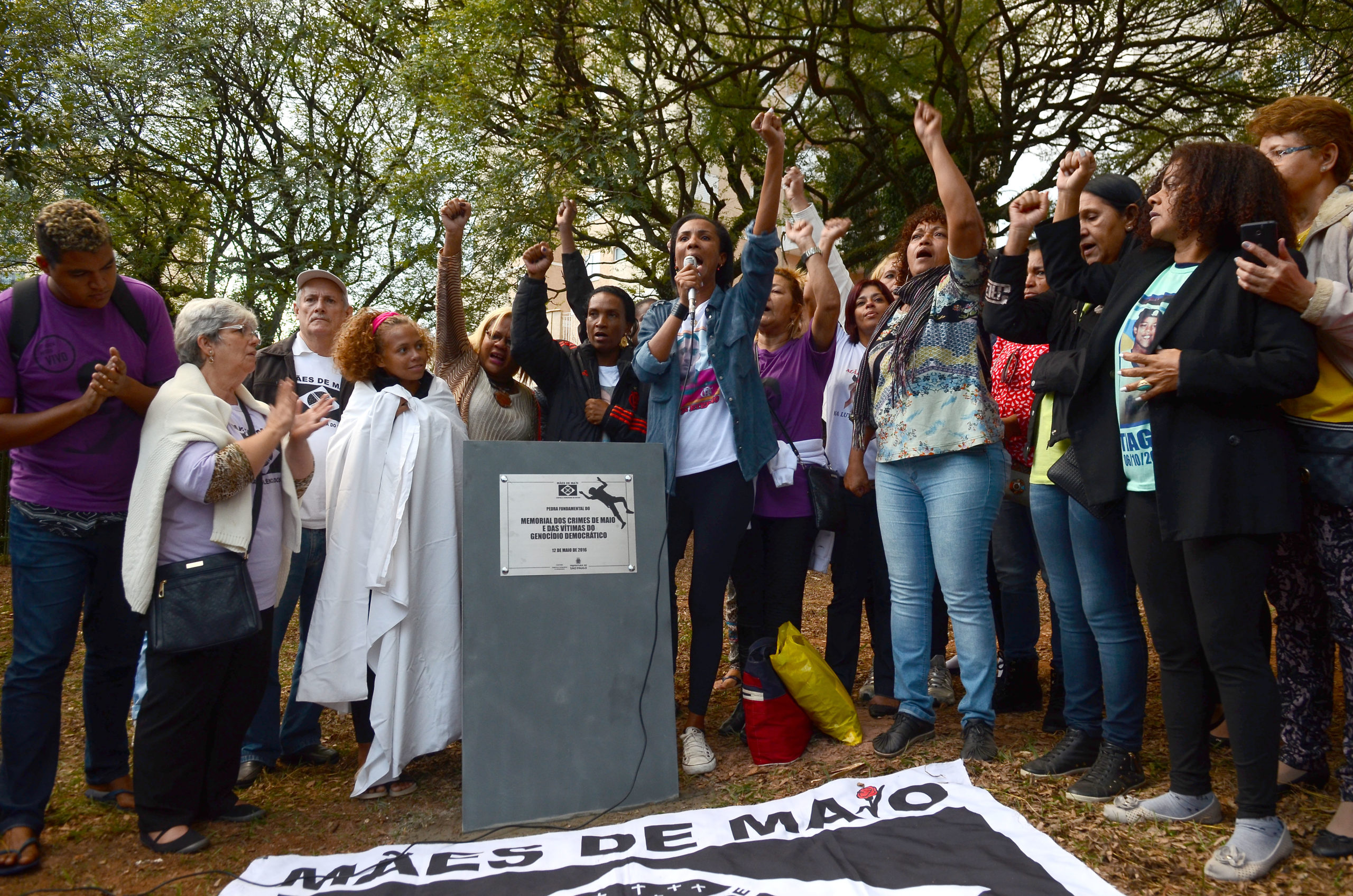 In 2016, Mothers unveil memorial to honour the Crimes of May deaths. Photo Rovena Rosa/Agência Brasil