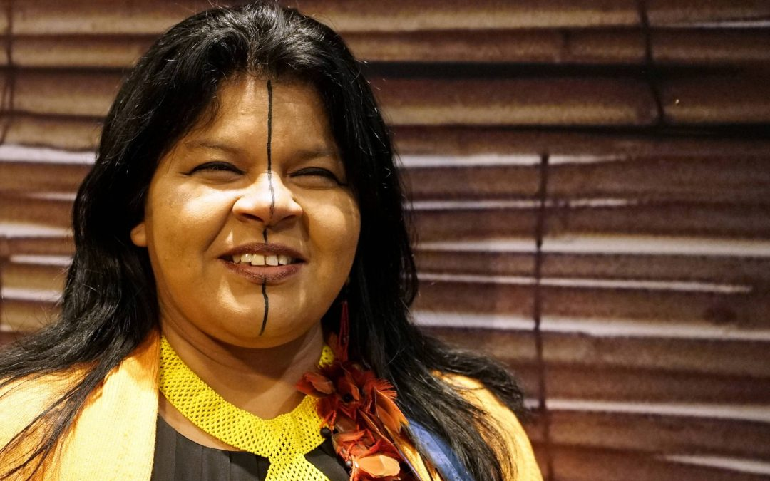 One of the great leaders of APIB (Articulation of Indigenous Peoples of Brazil), Sonia Guajajara was summoned by the Federal Police for criticism of the Bolsonaro´s government.