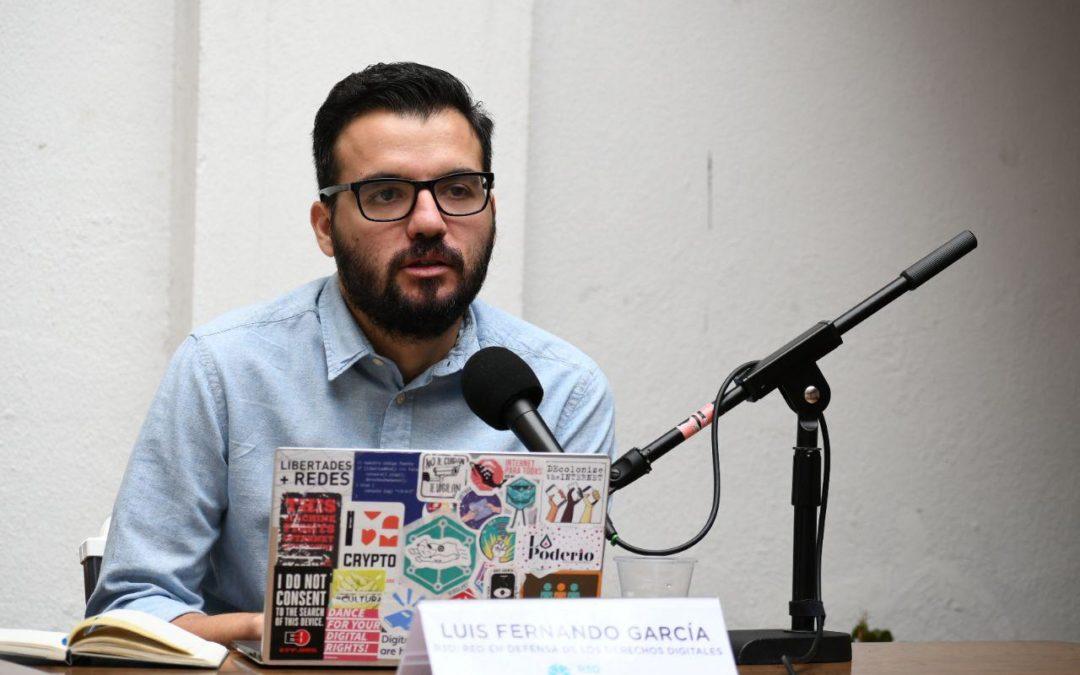 Luis Fernando García, diretor-executivo da ONG mexicana Red en Defensa de los Derechos Digitales Foto: Divulgação