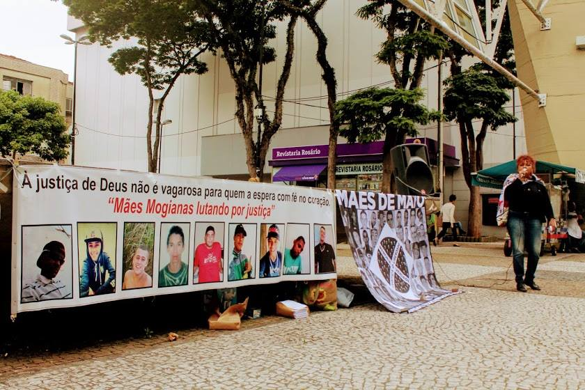 Dona Débora, leader of the Mothers of May Movement, in an interview with Conectas on the Crimes of May. Foto: Divulgação/Movimento Mães de Maio