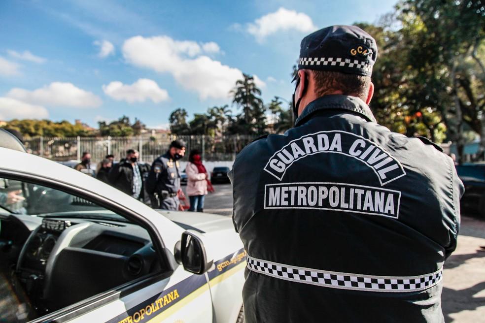Petição destaca que utilização de fuzis não é compatível com funções da Guarda Municipal. Foto: Marcelo Pereira/Secom/PMSP