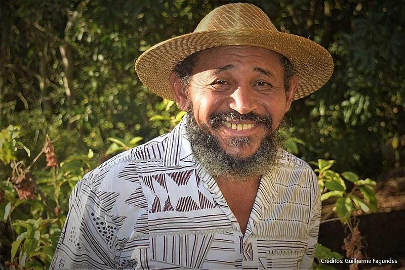 Nego Bispo, lavrador, formado por mestras e mestres de ofícios, morador do Quilombo Saco-Curtume no Piauí. Foto: Guilherme Fagundes